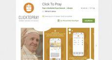 У Папы Римского появилось свое приложение: кликни и молись
