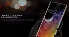 Doogee показала концептуальный безрамочный смартфон-слайдер
