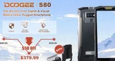 Doogee S80: защищенный мобильник с NFC и батарейкой на 10080 мАч