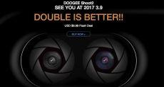 Doogee Shoot 2 — доступный смартфон с двойной камерой