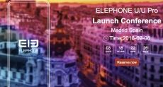 Elephone U и U Pro: изогнутые AMOLED дисплеи, Face Unlock, Snapdragon 660 и не только