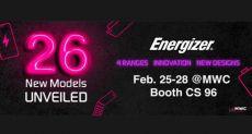 На MWC 2019 высадится десант из 26 мобильников Energizer