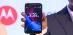 Moto G5 Plus засветился на «живом» снимке