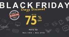 Черная пятница на Geekbuying.com: праздничная распродажа и возможность выиграть смартфон, роутер или смарт часы