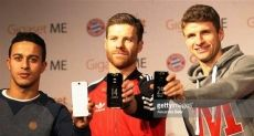 Эксклюзивные Gigaset Me вручили игрокам футбольного клуба «Баварии»
