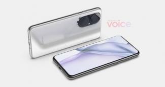 Показали Huawei P50 на рендерах