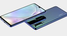 3D-рендер Huawei P30 раскрывает все особенности дизайна