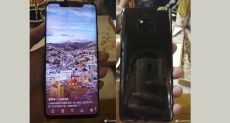 Huawei Mate 20 Pro демонстрируют на «живых» фото