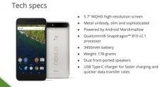 Huawei Nexus 6P: все, что известно о смарфтоне накануне презентации