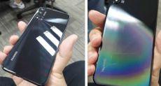Huawei Nova 5 позирует на живых фото
