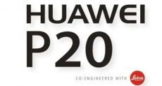 Назвали дату анонса Huawei P20