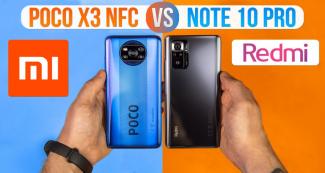 Сравнили Poco X3 и Redmi Note 10 Pro и узнали, какой лучше