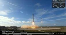 Илон Маск подтвердил, что сегодня при запуске Falcon Heavy был потерян центральный ускоритель