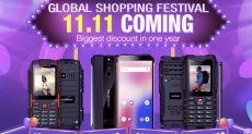 Ioutdoor устраивает распродажу защищенных телефонов 11 ноября