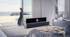 CES 2019: представлен рулонный телевизор LG Signature OLED TV R