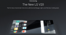 Google: LG V20 первый смартфон с Android 7.0 Nougat