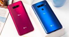 Представлен LG V40 ThinQ: флагман с идеальным звуком, отличным дисплеем и пятью камерами