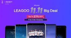 Распродажа смартфонов Leagoo для холостяков и не только 11 ноября