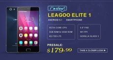 Gearbest: новая акция на Leagoo Elite 1 и Leagoo Elite 4