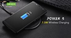 В Leagoo Power 5 есть поддержка беспроводной зарядки