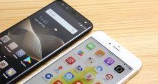 Leagoo S8 против iPhone 8: сравнение дизайна