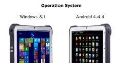 Leeline WT10 - неубиваемый планшет на прошивке Android и Windows
