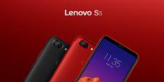Анонс Lenovo S5: весь на тренде и с двойной камерой