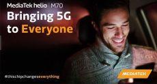 MediaTek 5G SoC: мобильная платформа для 5G-флагманов нового поколения