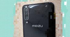 Игровой смартфон Meizu 16T впервые попал в объектив камеры