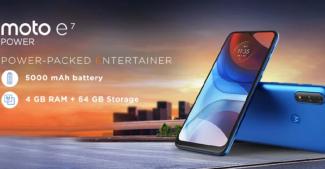 Motorola E7 Power. В Индии продажи стартуют уже через несколько дней