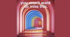 Motorola готовит масштабное мероприятие 25 июля