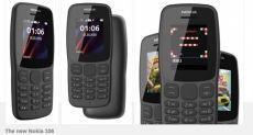 Анонс Nokia 106: кнопочный марафонец