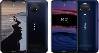 Анонс Nokia G10 и Nokia G20: Android 11 и емкие батарейки