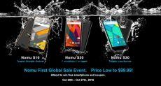 Распродажа защищенных (IP68) смартфонов Nomu S10, S20 и S30 с возможностью выиграть крутой флагман от Apple или Samsung
