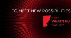 Nubia покажет новый смартфон на MWC 2017