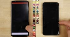 OnePlus 5T и iPhone X сравнили в тесте на скорость работы