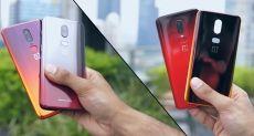 Прототип смартфона OnePlus с градиентной тыльной панелью