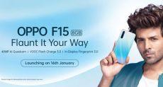 Oppo F15: дата анонса и характеристики