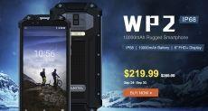 Gearbest устроил распродажу защищенного смартфона Oukitel WP2 и наушников Meizu EP52 Lite