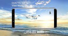 Oukitel представит сразу два безрамочных смартфона: Mix 2 и C8