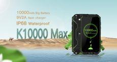 Oukitel K10000 Max обошел iPhone 7 Plus и iPad mini 4 в тесте на автономность