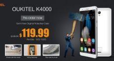 Oukitel K4000: открыт предзаказ на самый доступный смартфон с аккумулятором 4000мАч
