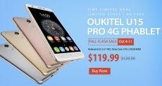 Только 7 дней Oukitel U15 Pro в магазине Gearbest.com за $119.99