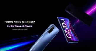 Представлены Realme Narzo 30 Pro 5G и Narzo 30A