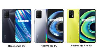 Представлены Realme Q3, Realme Q3i и Realme Q3 Pro: стильные 5G-смартфоны с чипами на любой вкус