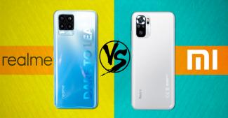 Redmi Note 10S vs Realme 8: что покупать