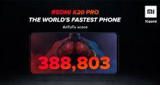 Redmi K20 Pro претендует на звание самого быстрого