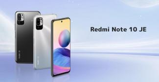 Анонс Redmi Note 10 JE: первый смартфон суббренда с водозащитой