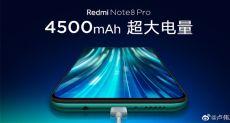 У Redmi Note 8 Pro будет емкая батарейка