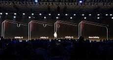 Samsung анонсировала новые «дырявые» Infinity-матрицы: еще больше дисплея